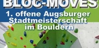 Bloc-Moves: Die 1. offene Augsburger Stadtmeisterschaft im Bouldern