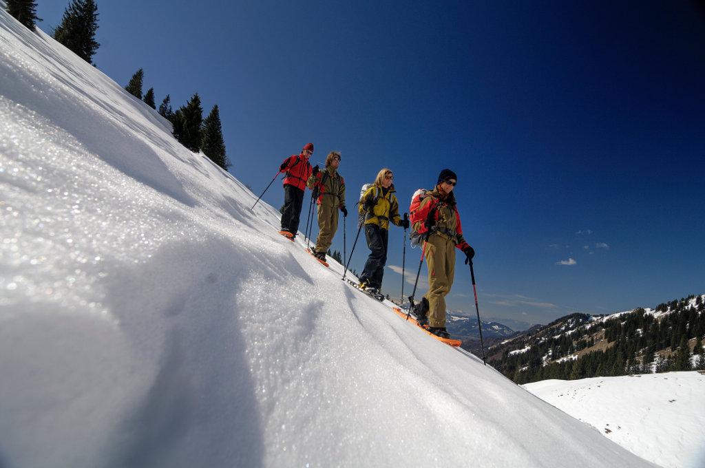 Schneeschuhtour am Hochgrat, Allgäuer Alpen (c) Wolfgang Ehn