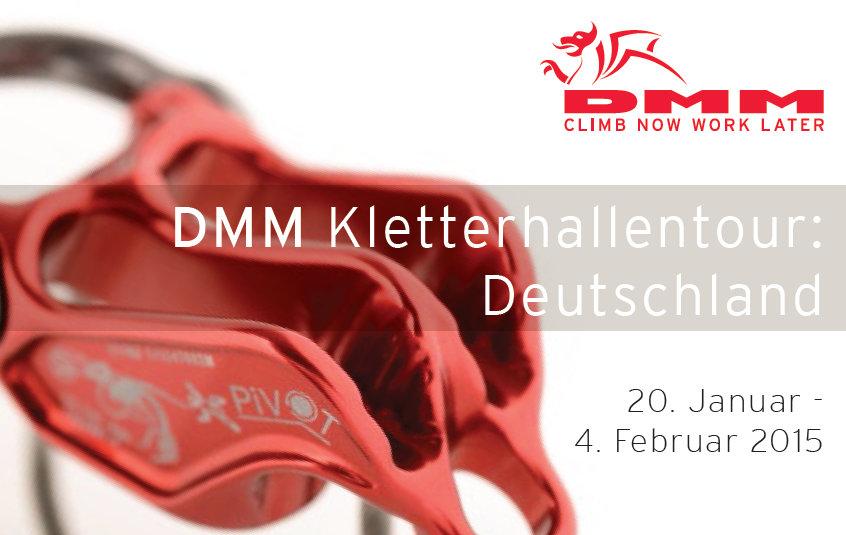 DMM Kletterhallentour 2015