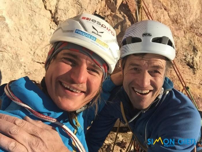 Simon Gietl und Adam Holzknecht (c) Archiv Simon Gietl