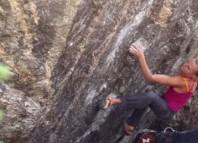 Katha Saurwein und Jorg Verhoeven in Chaos Canyon (c) Marmot