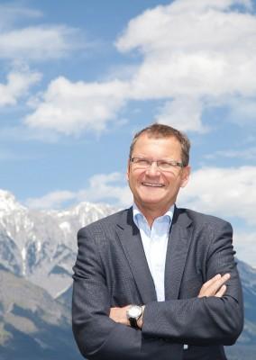 """""""Uns geht es darum, eine starke Wertegemeinschaft zu bilden"""", sagt Alpenvereinspräsident Dr. Andreas Ermacora (c) J. Türtscher, Blickfang-Photographie"""