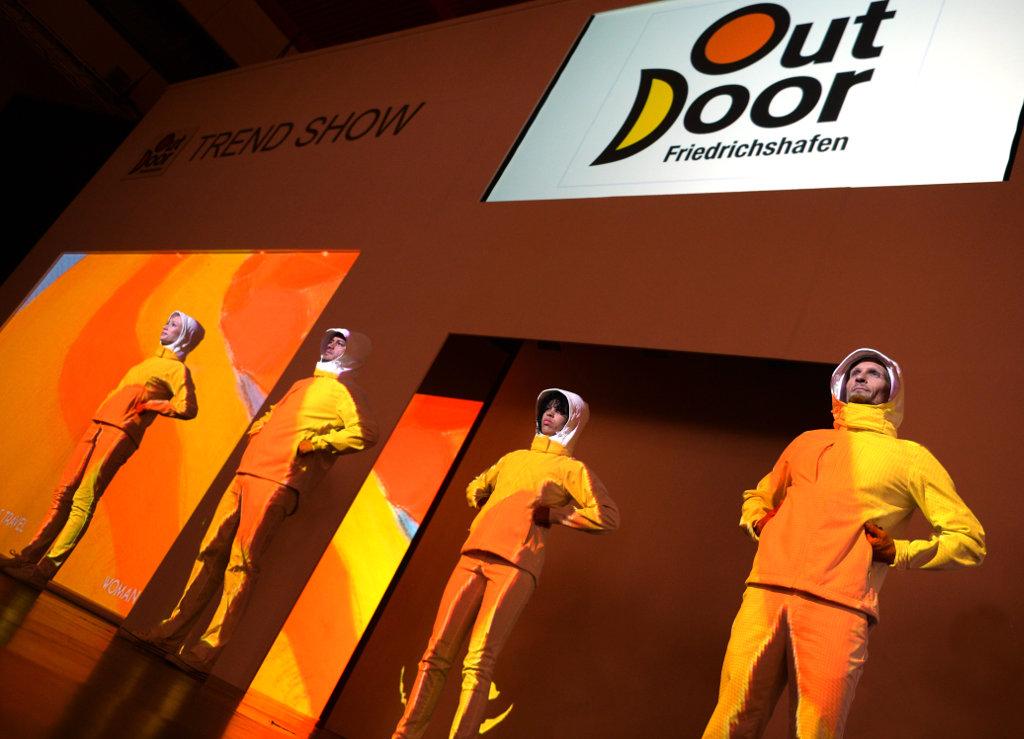OutDoor Messe in Friedrichshafen: Modenschau (c) OutDoor Messe