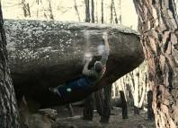Petra und Heiko Queitsch bouldern im spanischen Albarracin