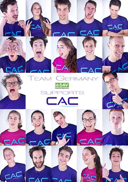 DAV Nationalkader unterstützt CAC 2015 (c) Deutscher Alpenverein