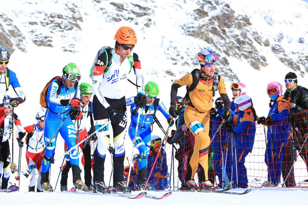 Weltcup Skibergsteigen in Andorra im Januar 2015 (c) Seebacher-Lugger