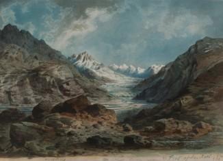 The Musták Pass bearing North (c) DAV Alpines Museum