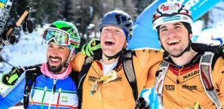Siegerstimmung bei Sepp Rottmoser und Toni Lautenbacher im Martelltal (c) Willi Seebacher