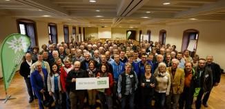 Die Teilnehmerinnen und Teilnehmer der DAV Werkstatt 2015 (c) Marco Kost