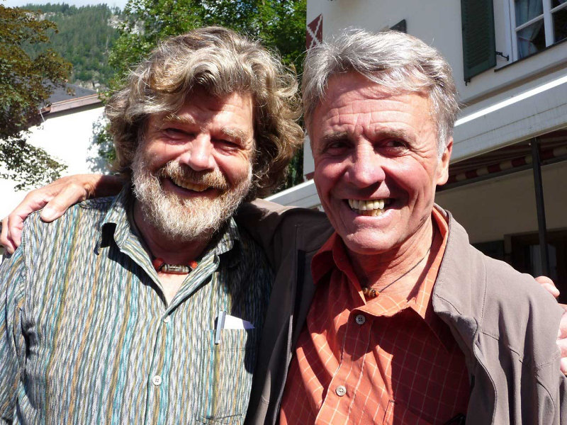 Reinhold Messner und Peter Habeler (c) DAV Sektion Rheinland-Köln