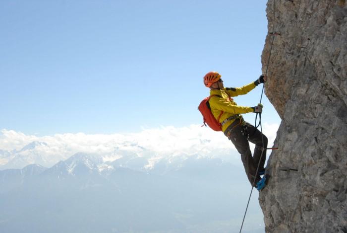Klettersteigset Y Oder V : Sicherheit am klettersteig empfehlungen des alpenvereins