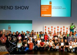 Award Gewinner 2014 Gruppenfoto (c) OutDoor Friedrichshafen