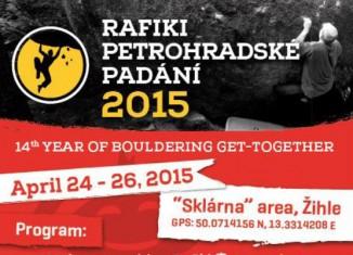 RAFIKI PETROHRADSKÉ PADÁNÍ 2015 in Petrohrad, Tschechien