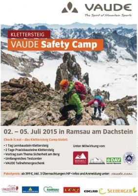 VAUDE Klettersteig Camp vom 2.-5. Juli 2015 in Ramsau am Dachstein