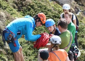 Gefahren erkennen, Fehler vermeiden in kostenlosen SAAC Climbing Camps (c) SAAC