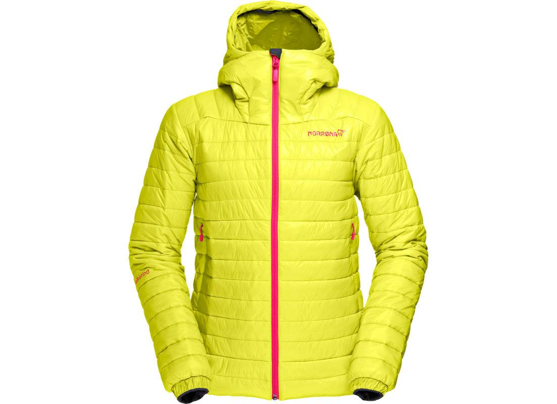 Norrona falketind Primaloft 100 Hood Jacket W Sulphurspring (c) Norrona