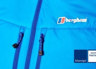Berghaus ist als erste britische Marke Systempartner von bluesign