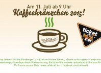 Café Kraft Kaffeekränzchen 2015: Jetzt wird's steil! (c) Café Kraft