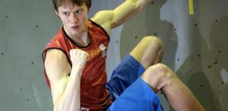 Boulderweltmeister Alexey Rubtsov (RUS) (c) Archiv Rubtsov