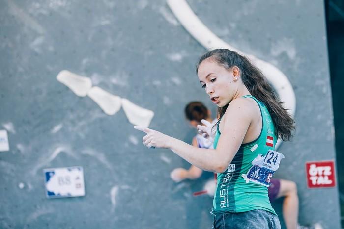 Kletterausrüstung Graz : European youth cup bouldering 2015 in längenfeld: Österreichs