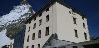 Zermatt: Die neue Hörnlihütte wird am 14.07.2015 eingeweiht (c) Kurt Lauber