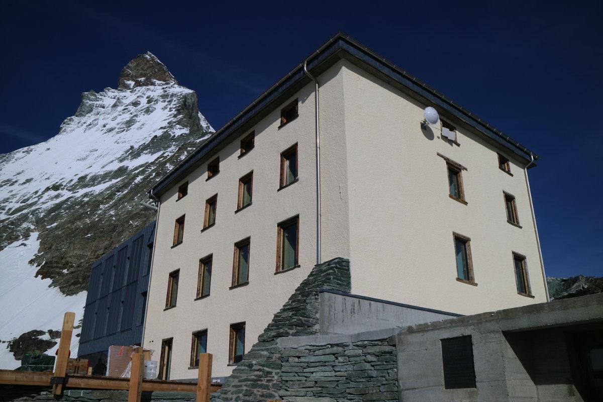 Kletterausrüstung Zermatt : Zermatt die neue hörnlihütte wird am eingeweiht