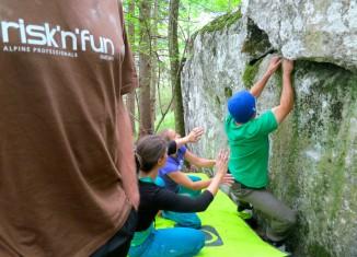 risk'n'fun: Kletterkurse am Peilstein und im Grazer Bergland (c) risk'n'fun KLETTERN/Ingo Stefan