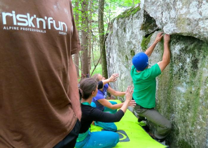 Kletterausrüstung Graz : Risknfun: kletterkurse am peilstein und im grazer bergland