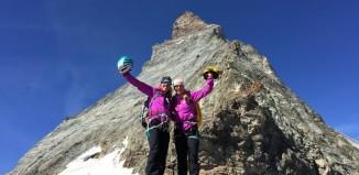 Deutsche Biathletinnen besteigen das Matterhorn (c) adidas Outdoor