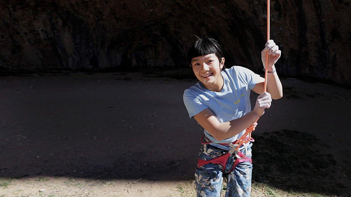 Ashima Shiraishi (c) Petzl / Parker Alec Cross