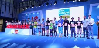 Asia Outdoor in Nanjing feiert mit der Outdoor-Industrie den 10. Jahrestag (c) Asia Outdoor