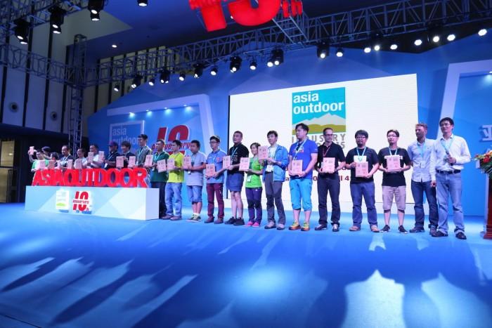 Kletterausrüstung Industrie : Asia outdoor in nanjing feiert mit der industrie den 10