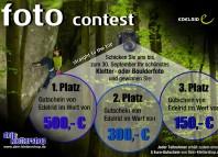 """FOTOCONTEST """"Straight to the top"""": Gewinnt Preise im Wert von 950 EUR (c) Dein-Klettershop.de"""