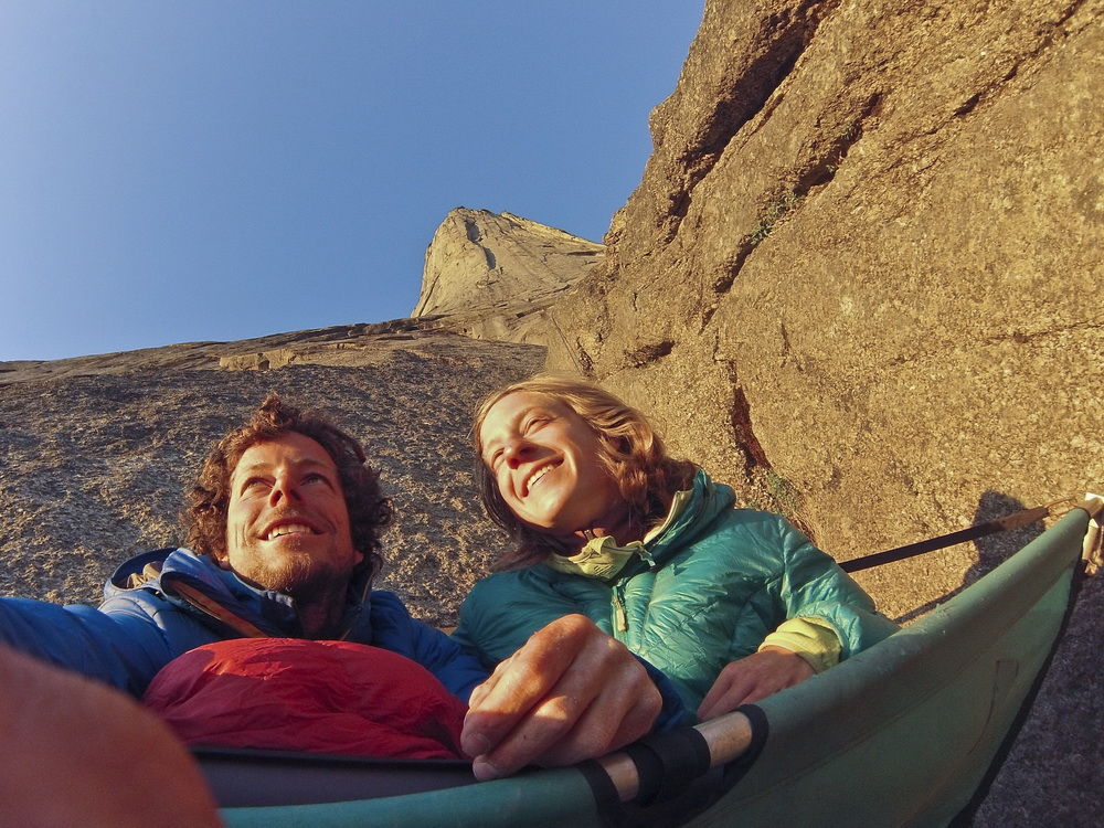 Kletterexploit in Südgrönland 2015 (c) Silvan Schüpbach, Bernadette Zak