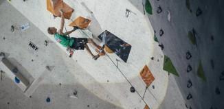 Kletterweltcup 2015 in Imst: Jakob Schubert und Jessica Pilz klettern aufs Podest (c) Elias Holzknecht