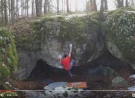 David Firnenburg und Alex Megos bouldern im Frankenjura (c) Firnenburgbrothers.com
