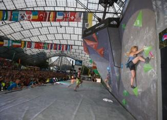 Finale Boulder Weltcup München 2015 (c) DAV/Marco Kost