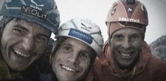 """Schwierigste """"Bigwall Erstbegehung"""" in der Eiger Nordwand: Odyssee (8a+), 1400 Meter (c) Frank Kretschmann"""