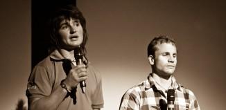 Simon Gietl und Roger Schäli beim IMS 2011 (c) Piotr Drozdz
