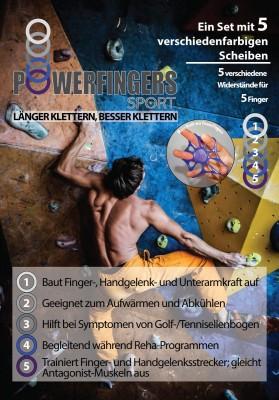 PowerFingers: System zum Trainieren der Fingerstrecker, Handgelenksstrecker und Unterarme (c) PowerFingers