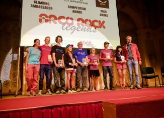 Arco Rock Legends 2015 winners (c) Nicola Tremolada / planetmountain.com