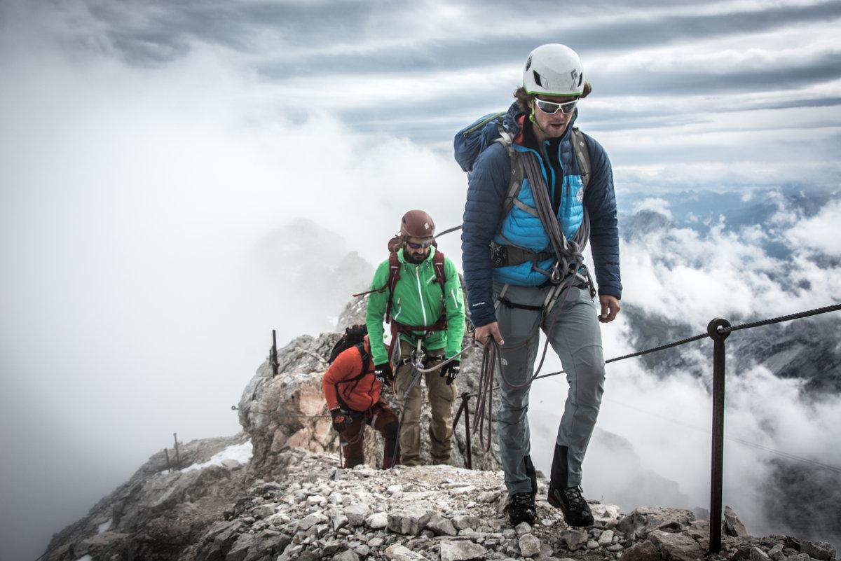 Hanwag Alpine Experience 2015: Drei Teams trotzen dem Wetter (c) Hanwag