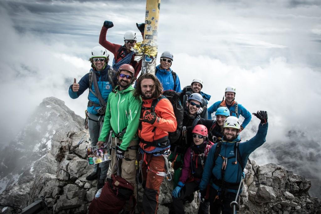Hanwag Alpine Experience 2015: Auf dem Gipfel der Zugspitze (c) Hanwag