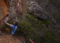Jimmy Webb bouldert in Australien 2015 (c) Jimmy Webb