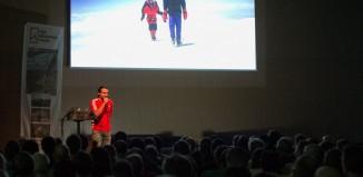 Alexander Huber auf der Alpinmesse Innsbruck 2015 (c) Alpinmesse Innsbruck