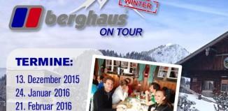 Berghaus on Tour 2015/16: Schneeschuh-Hüttengaudi in den bayerischen Alpen