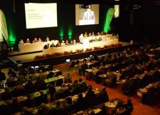 Das wichtigste Gremium des DAV tagt jedes Jahr. 2014 trafen sich die Delegierten in Hildesheim (c) DAV