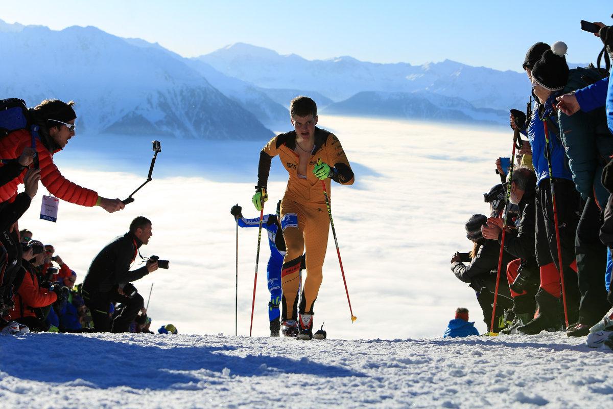 Die Skibergsteigen-WM 2015 in Verbier. (c) DAV/Willi Seebacher