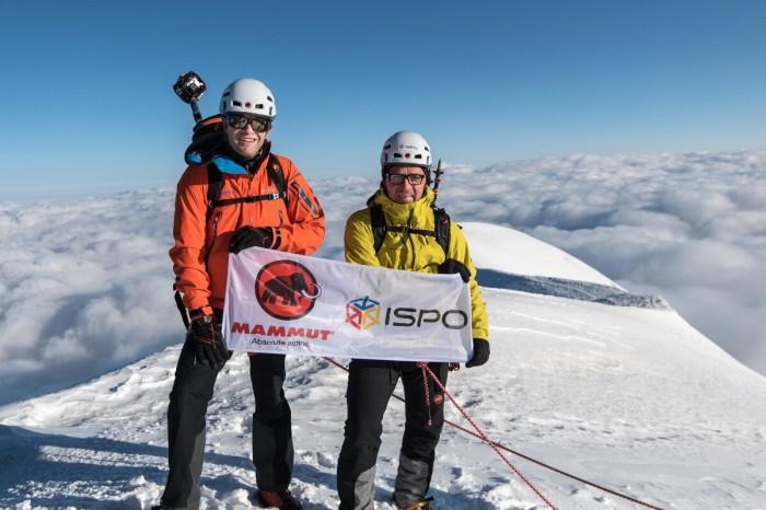 ISPO und Mammut: Gemeinsam hoch hinaus für #project360 (c) Julian Rohn