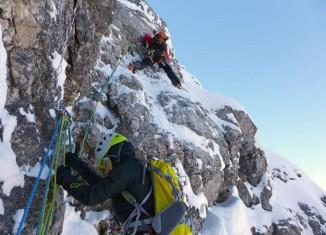 DAV Ausschreibung: Nachwuchscamp Winterbergsteigen 2016 (c) Doerte Pietron